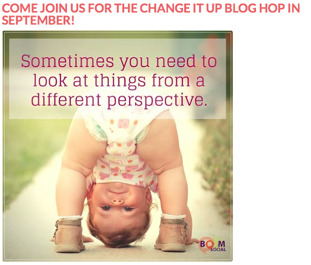 MagPie Approved:I'm Signed up for B'SUes Change it UP Blog Hop