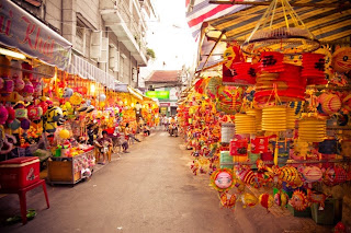 La fête mi-automne au Vietnam