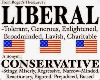 Liberal vs. Conservative