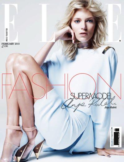 elle uk february 2013 cover