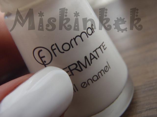 Flormar-Supermatte-Beyaz-Oje-M103
