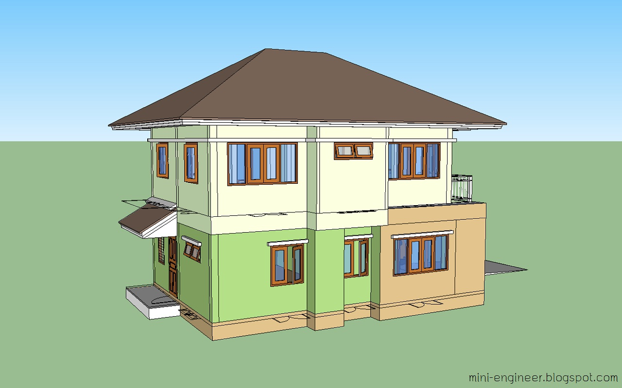 together with 3d house - photo #6