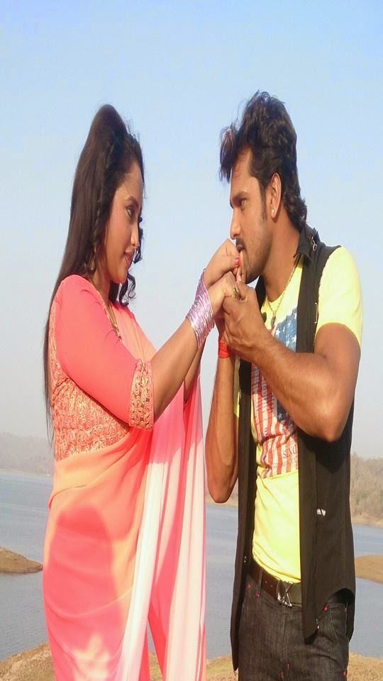 "Khesari Lal Yadav Romance with Rani Chatterjee Rani in Upcoming film ""Jaanam"" photo 2"
