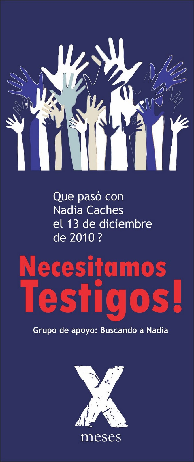 NECESITAMOS TESTIGOS!!!