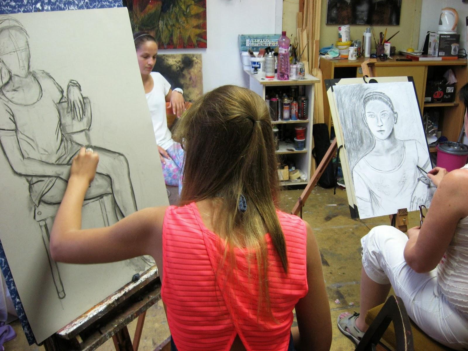 Talentové zkoušky na umělecké školy - přípravný kurz