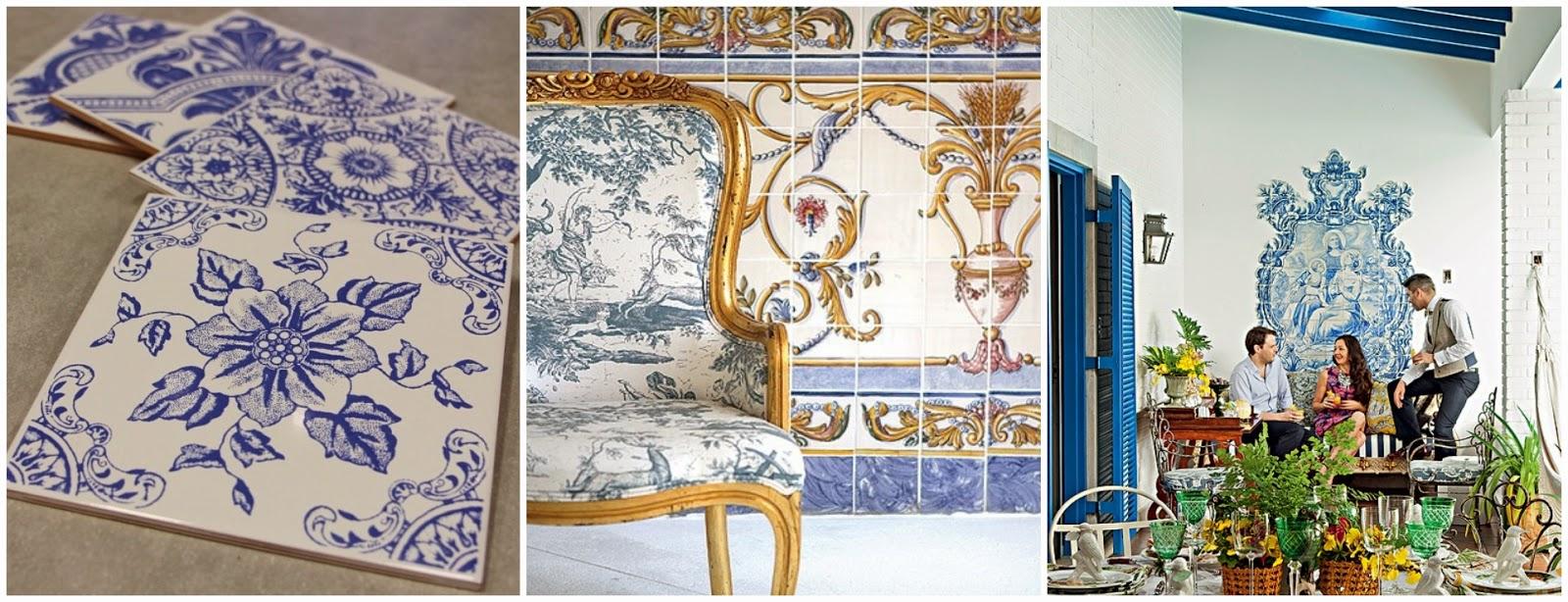Azulejos portugueses na decoração dos dias atuais