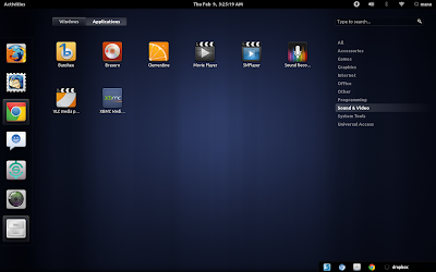 gnome shell desktop theme