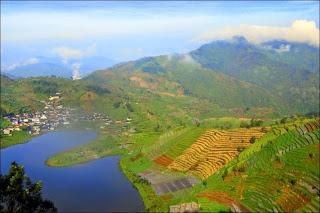 Telaga Cebong - Wisata Dieng - Wisata di Dataran Tinggi Wonosobo, Jawa Tengah