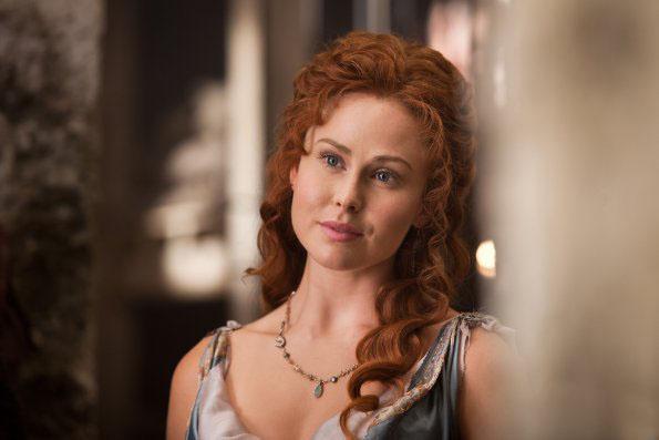 Jenna Lind  es Laeta en Spartacus War of Dammed 3x02
