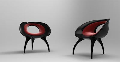 Tear Drop Chair