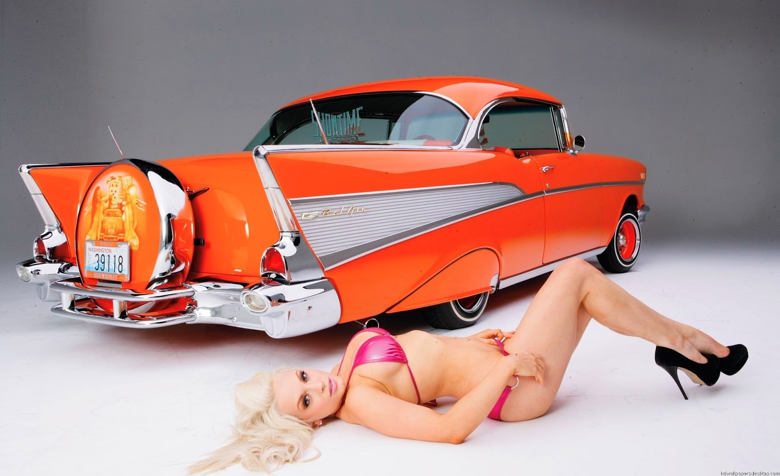 Girls With Cars Wallpapers & Picture