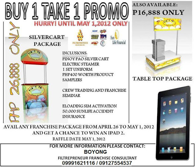 BUY 1 TAKE 1 PROMO. P16,888 ONLY!