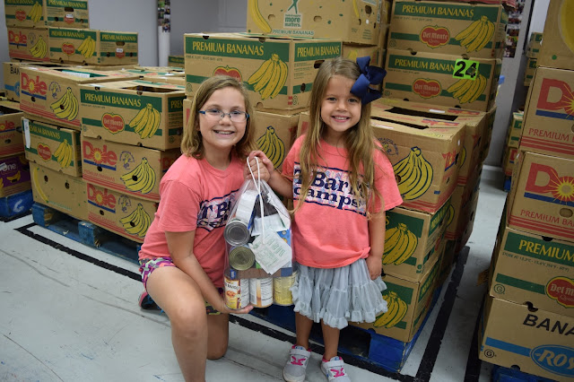 While I'm Waiting...Show & Tell Tuesday - summers at the food bank