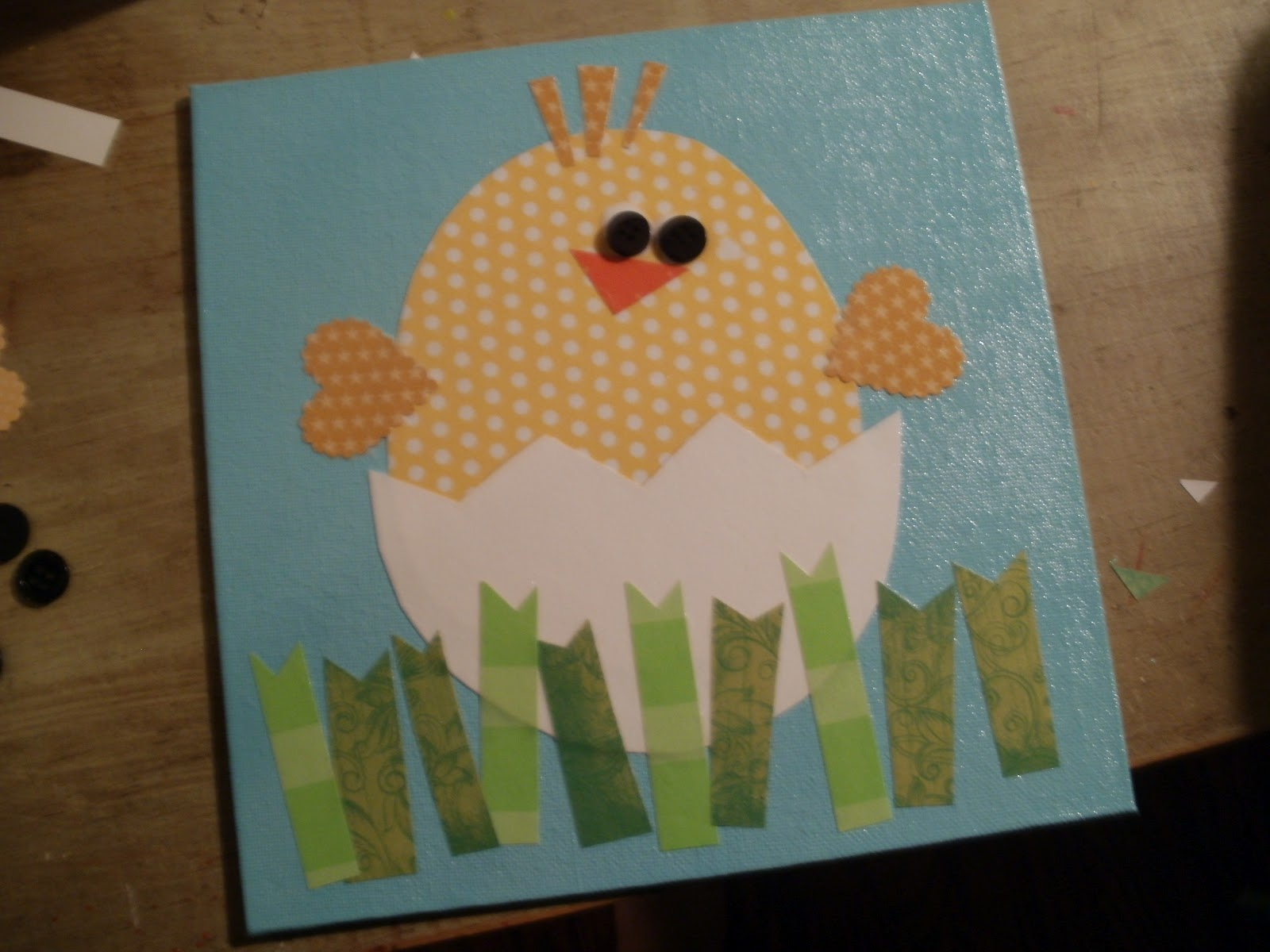 Mollie 39 s mom hey chick for Easter craft for preschool