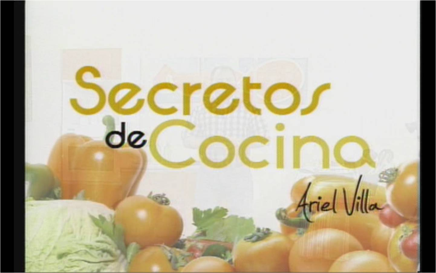ariel villa producciones secretos de cocina tv