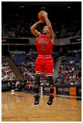 derrick rose shooting form - photo #4