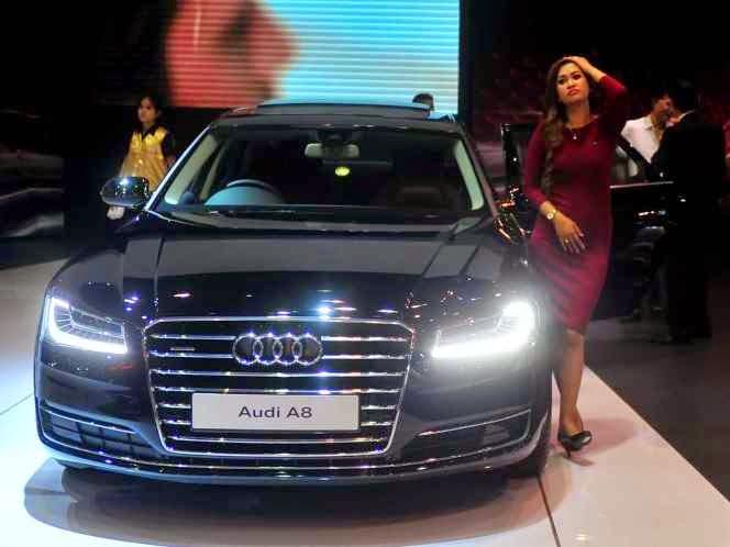 SPG Audi A8 IIMS 2014