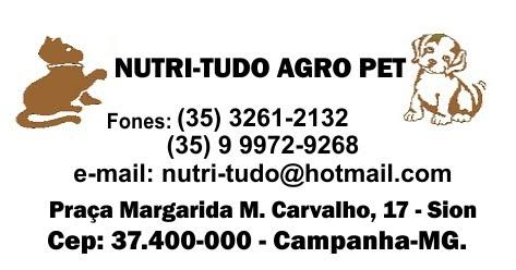 NUTRI-TUDO AGRO PET - CAMPANHA