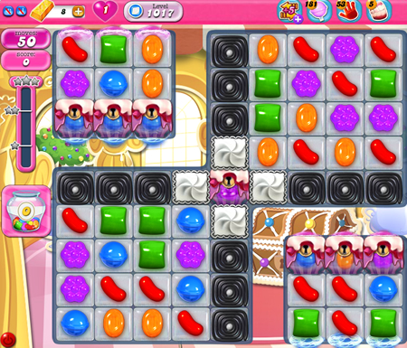 Candy Crush Saga 1017