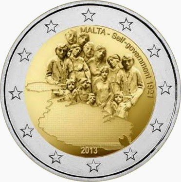 2 Euro Commemorative Coins Malta 2013, Self-Government Constitution of 1921