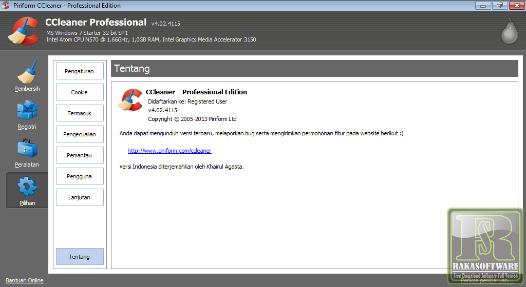 Ccleaner professional business edition 4.02.4115 final multilanguage bg