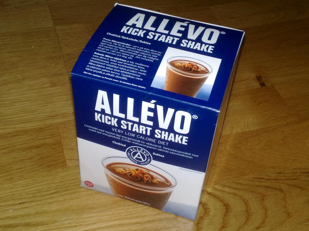 allevo choklad shake