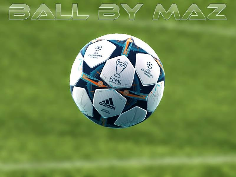 PES 2013 Adidas UEFA Champions League Final 2014 Lisbon Ball by MAZ
