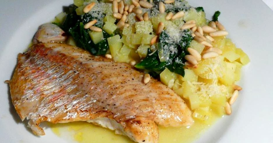 Red Snapper an Kartoffel-Risotto