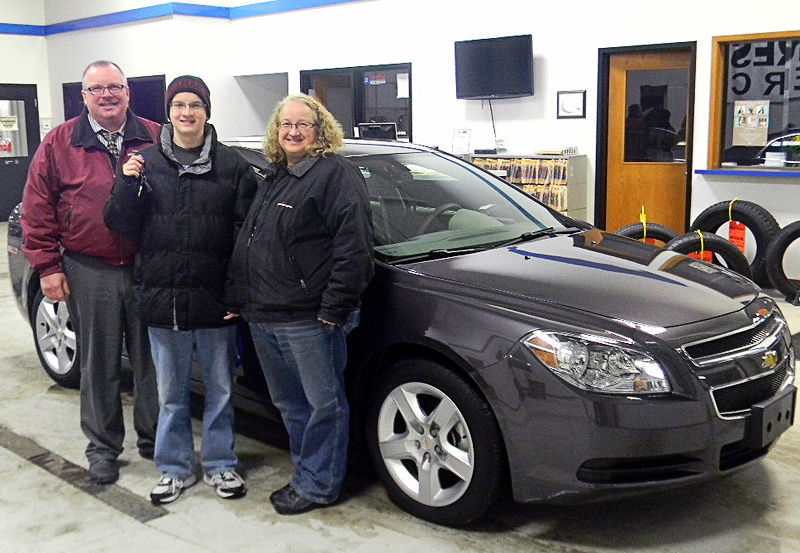 Van Horn Auto Group Blog: Church Auction Winner Receives New Chevy