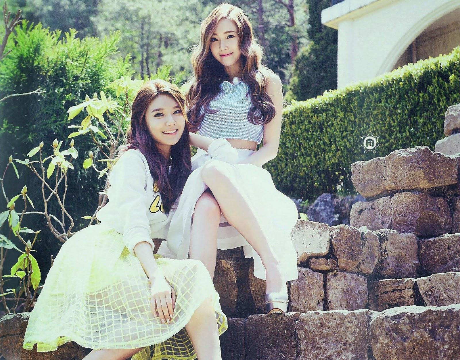 SNSD Girls Generation The Best Scan Wallpaper HD 7