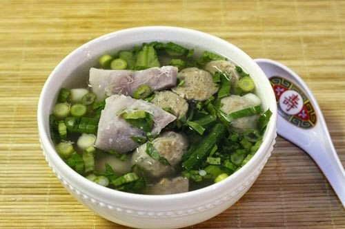 Indian Taro Soup with Beef Balls Recipe - Canh Khoai Môn Bò Viên