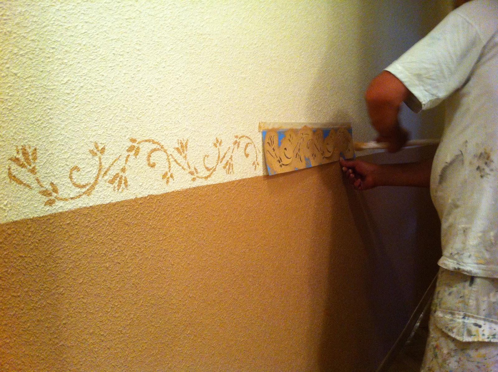 Pl stico plantillas de colores y z calos particular - Zocalo pared ...