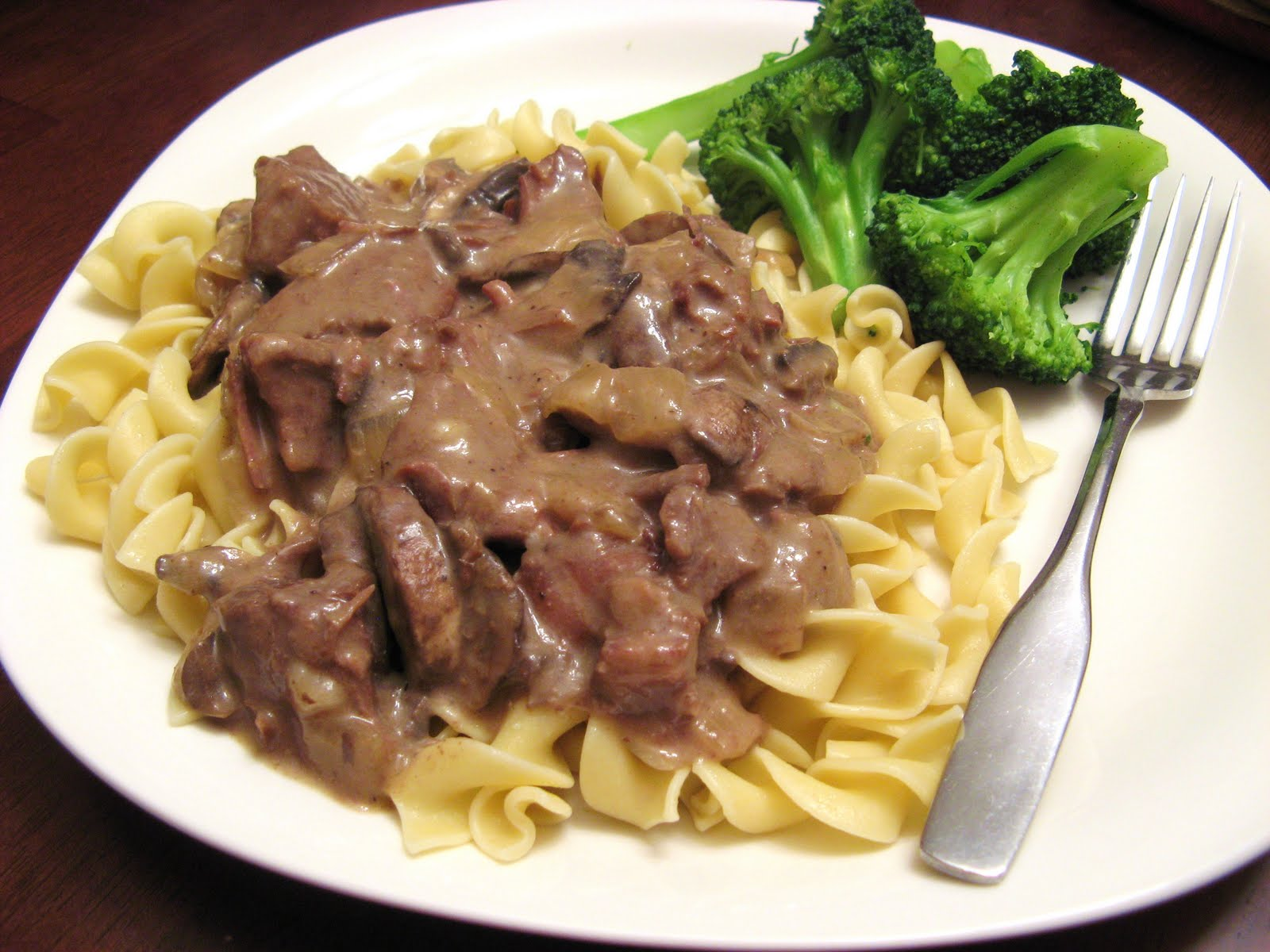 Slow Cooker Stroganoff Recipe — Dishmaps