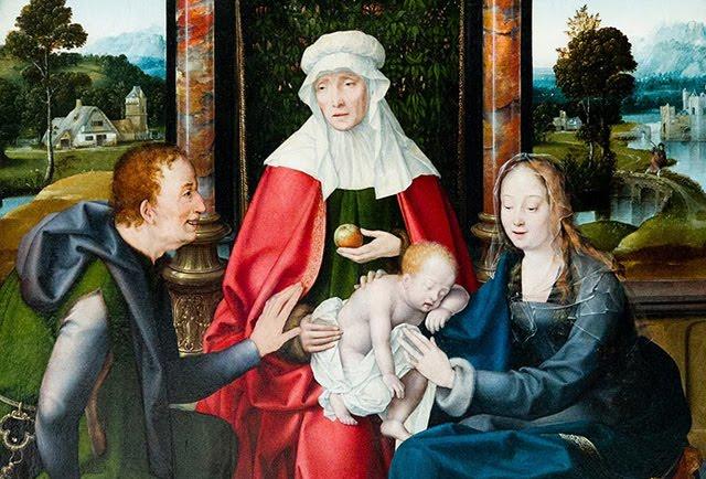 Santa Ana no es la madre de la Virgen María; el niño Jesús encubre a la niña María