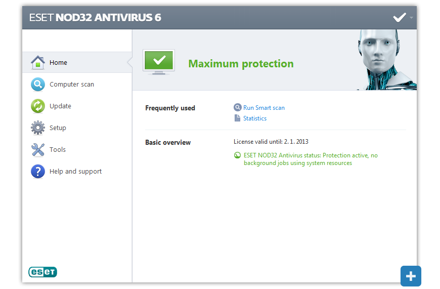 how to download install eset nod32 antivirus 6 free