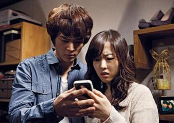 salah satu adegan dalam film horor korea don't click