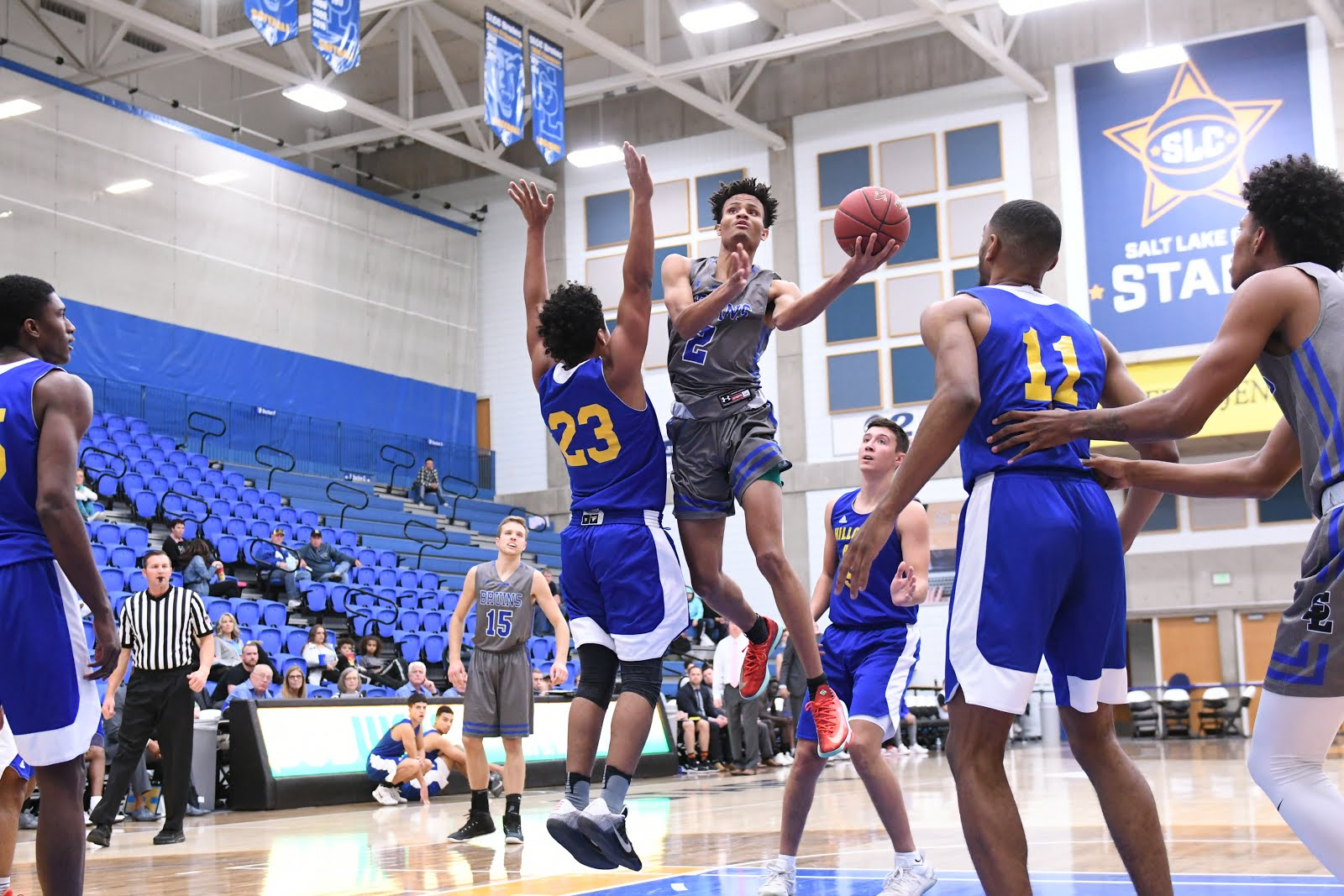 The Fountain - The Official SLCC Blog: Men's Basketball Reaches 12-0, Women 7-2