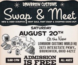 Lowbrow Customs Swap and Meet