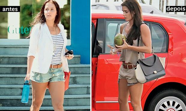 A atriz da globo fez uma dieta que a levou a emagrecer 11 kg em apenas 40 dias. Sob supervisão médica ela fez dieta e exercícios...