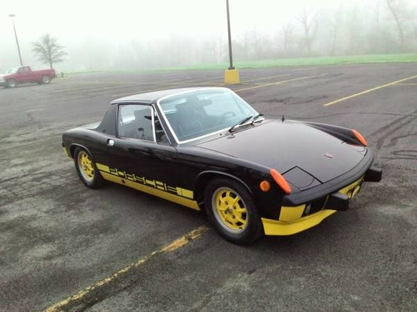 Limited Edition, 1974 Porsche 914 CAN-AM