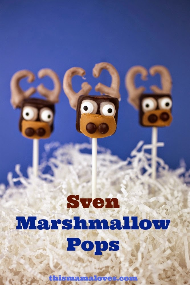 Sven Marshmellow Disney Recipe to Try