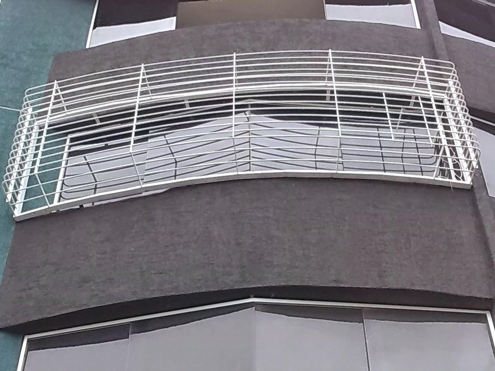 Aluminios ele ogu och c a rejas para balcones - Rejas para balcones ...