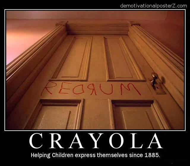 crayola red room