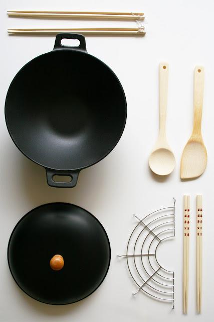 Wok et accessoires