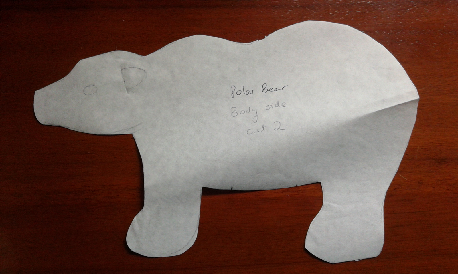 Polar bear sewing pattern gallery craft decoration ideas polar bear sewing pattern images craft decoration ideas polar bear sewing pattern image collections craft decoration jeuxipadfo Images