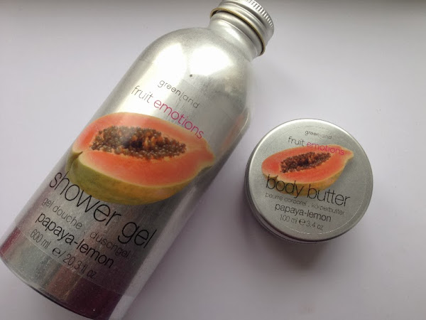 Greenland body care set |  Papaya-Lemon.