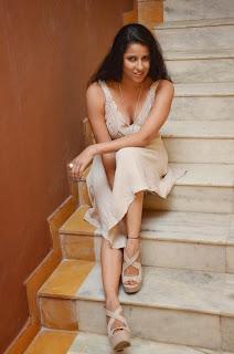 Shravya Reddy in Lovely Brown Skirt Spicy Pics Lovely Beauty Pics