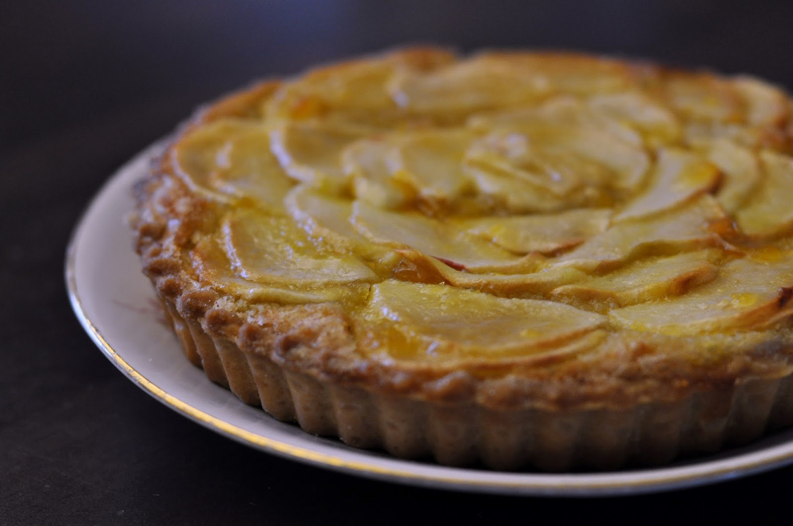 Bake Off Bake Along: Week 6 - Apple Frangipane | Sophie ...