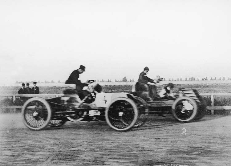 British Paintings Henry Ford Racing 1901