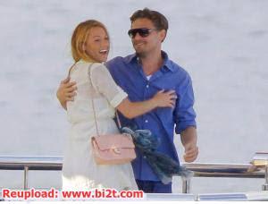 Foto Leonardo DiCaprio dan Blake Lively Pelukan Mesra